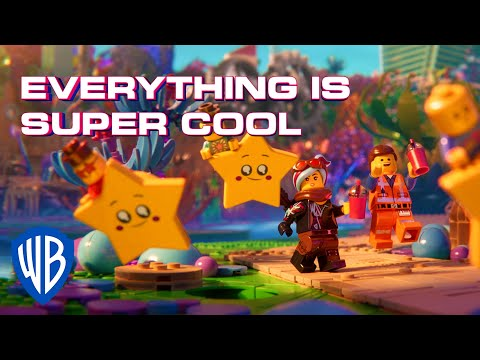 The LEGO Movie 2   Super Cool - Beck ft. Robyn & The Lonely Island [Official Lyric Video]   WB Kids