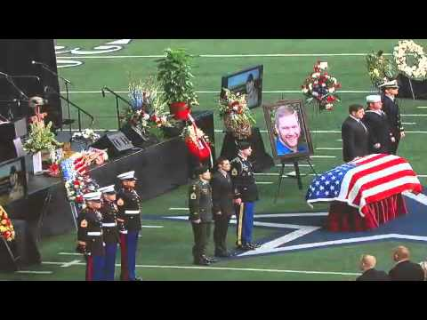 Chris Kyle Funeral - YouTube