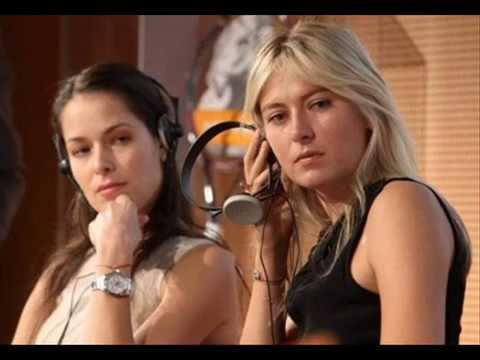 Sexy bitches Ana Ivanovic and Maria Sharapova