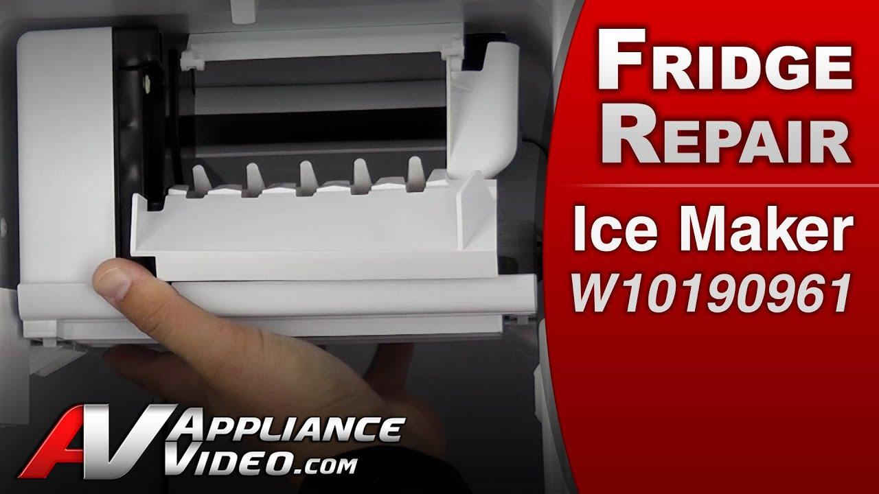 refrigerator diagnostic repair ice maker whirlpool maytag roper amana kenmore [ 1280 x 720 Pixel ]