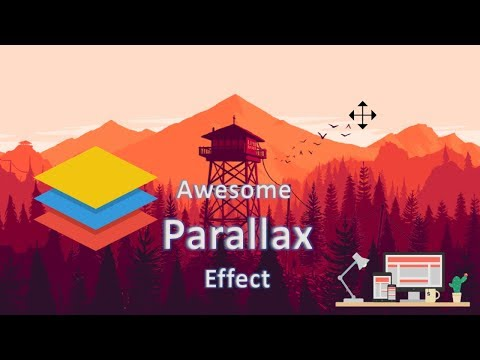11 Awesome Parallax Example - From CodePen - 2017 & 2018