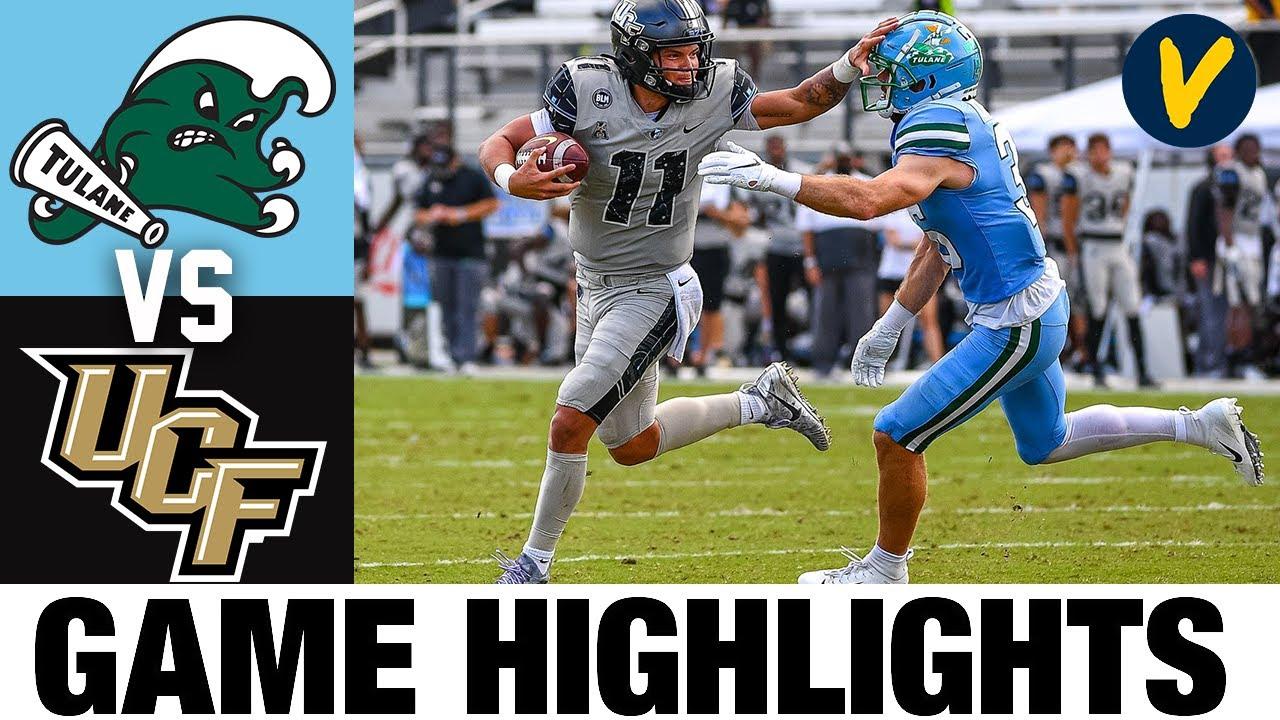 Tulane vs UCF Highlights | Week 8 2020 College Football Highlights