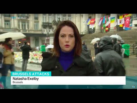 Police arrest six people over suicide bombings in Brussels, Natasha Exelby reports
