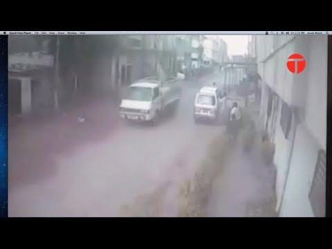 CCTV footage of Karachi Blast revealed