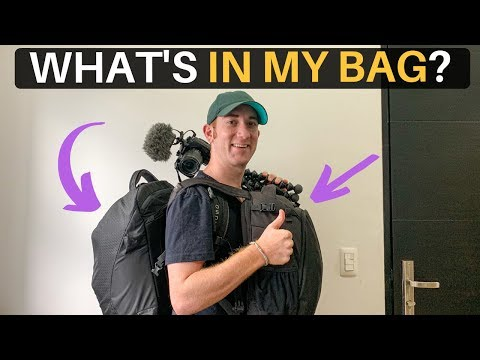 WHAT'S IN MY BAG? (Going to AFRICA for 3 months)