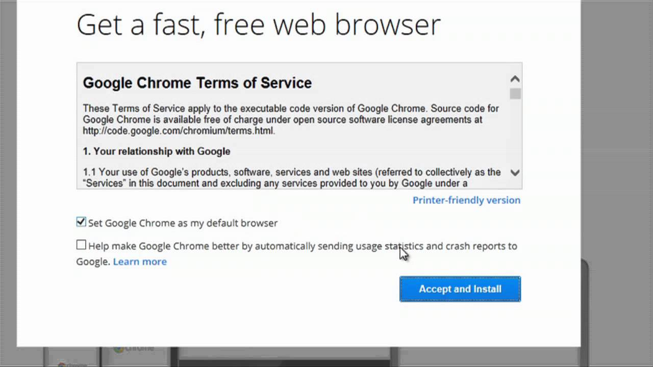 How to Replace Internet Explorer With Google Chrome Browser ...