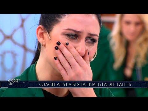 ¡Entre lágrimas, Celeste abandonó el taller de Corte y confección!
