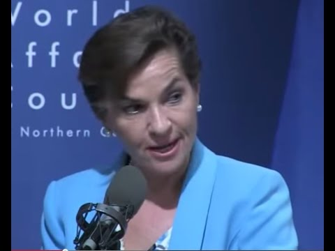 THIS IS YOUR AGENDA 21 MEGACITIES FUTURE IF THIS UN LADY HAS HER WAY. CHRISTIANA FIGUERES.