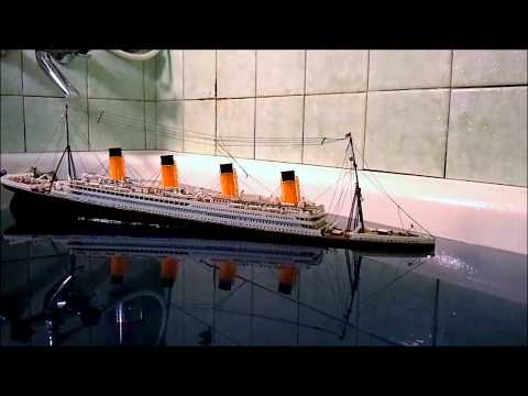 RMS TITANIC sinking: the most viewed video over 1 000 000 views!