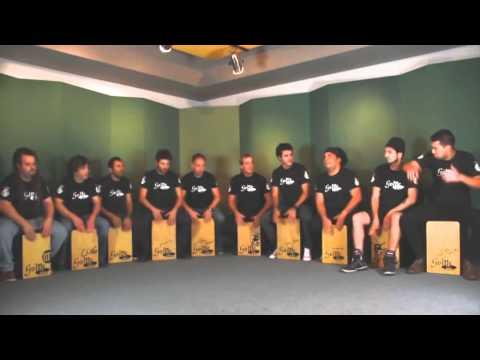 Argentine drummers - Golpe Percusion Cajones - Cajon Flamenco Argentina