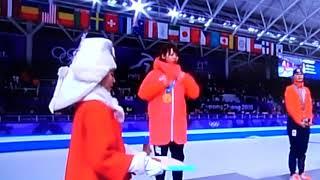 高木菜那 表彰式 金メダル 君が代 高木菜那 検索動画 30