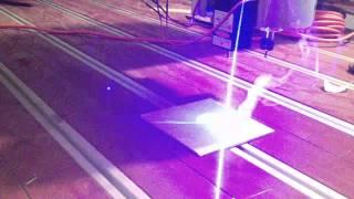 Laser 3w 450nm. Con Mach3 Y Vcarve Mecathings