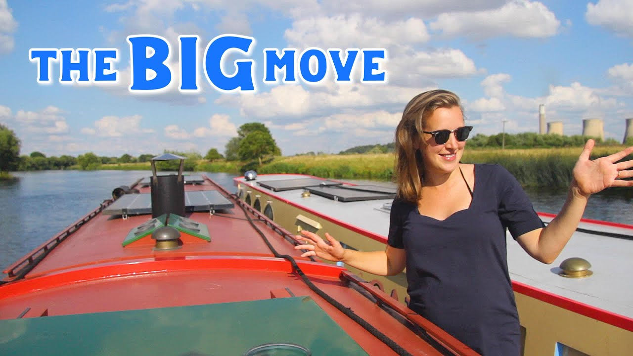 Dodging Lightning, Nearly Dying and Breaking our Narrowboat: All in a days work on the big move!