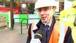 Rambouillet : chantier d'envergure autour de la RN10 pour ERDF