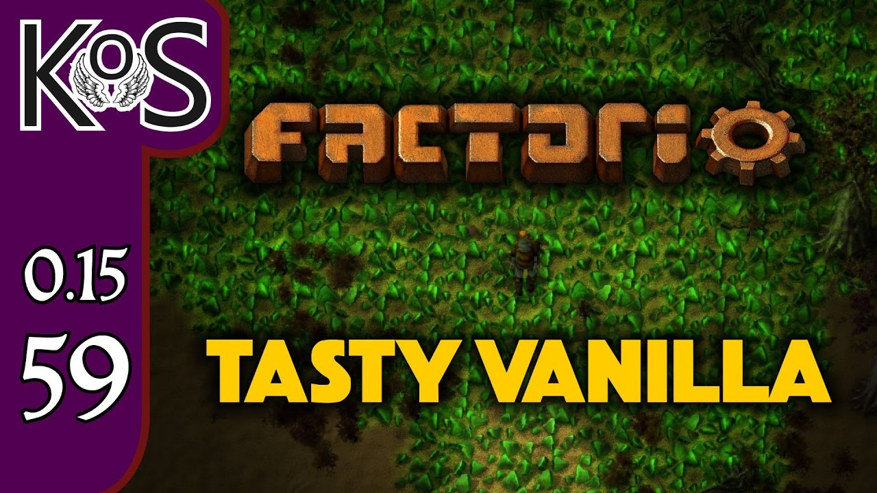 Factorio 0 15 Tasty Vanilla Ep 59: End Game Smelting - Expensive Recipes,  Let's Play, Gameplay