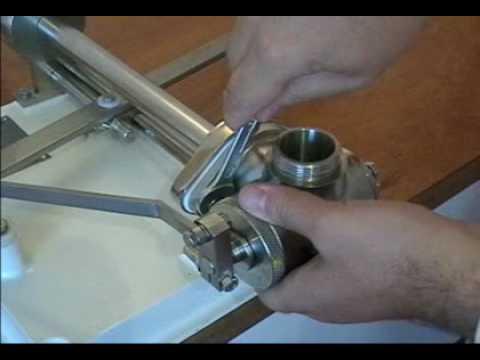 Emrich Industries - Adelphi Centrac Manual Filling Machine.mpg