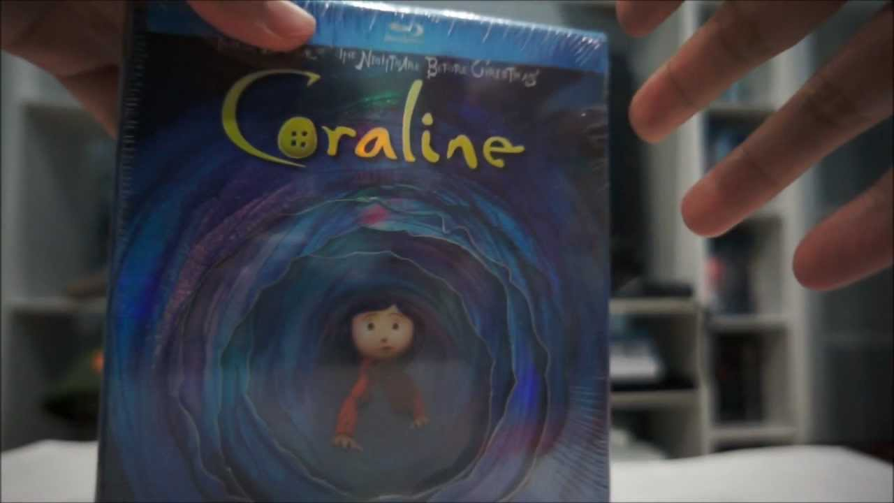 Coraline Limited Edition Gift Set Blu Ray Unboxing Youtube