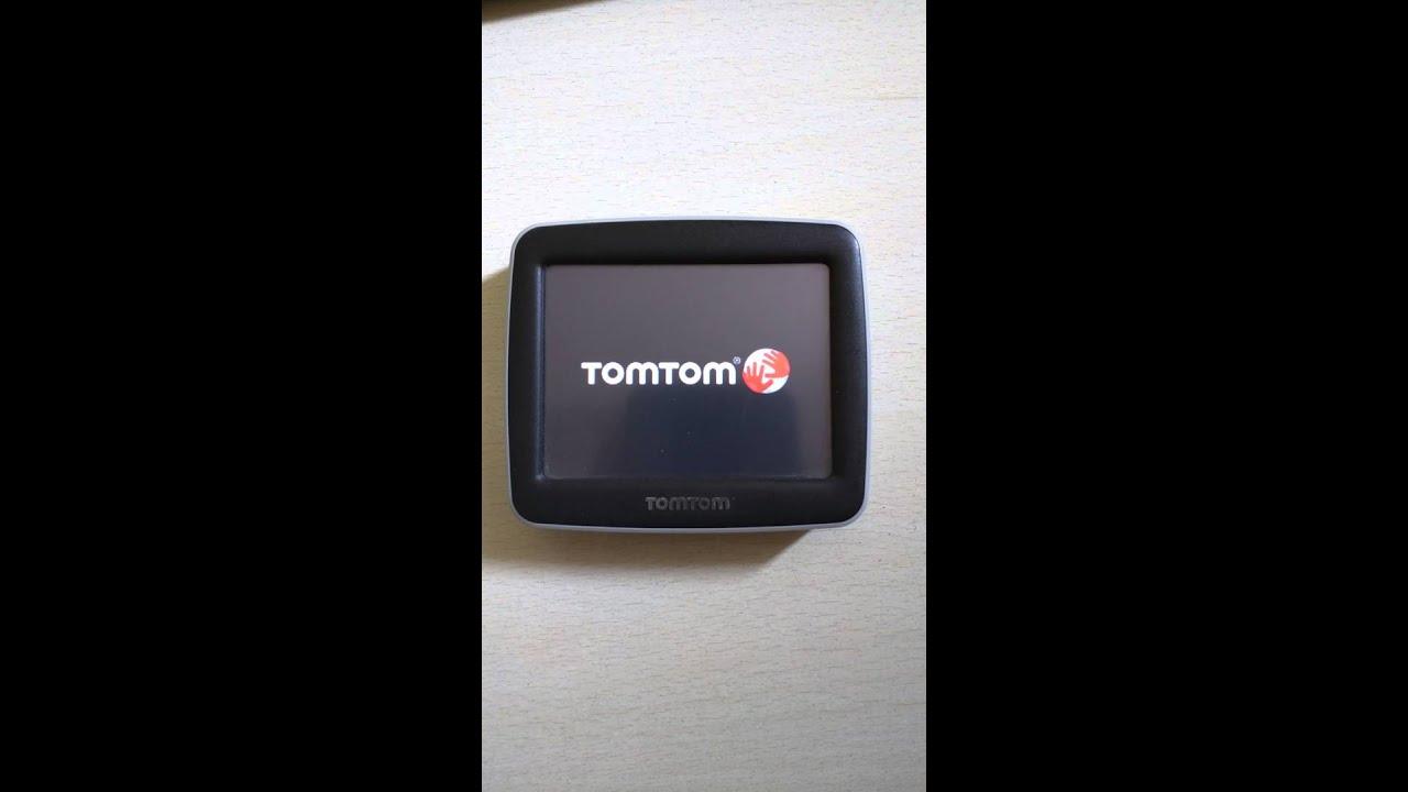 Tomtom Start Stuck On Start Screen.