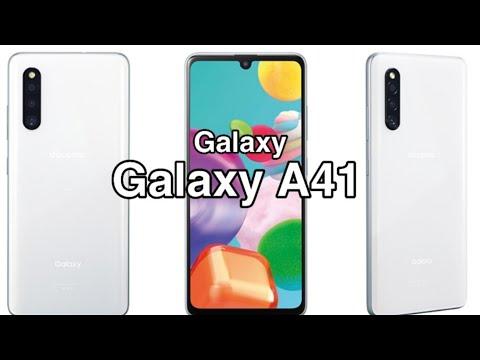 El Samsung Galaxy A41 ya es oficial || características y especificaciones ||