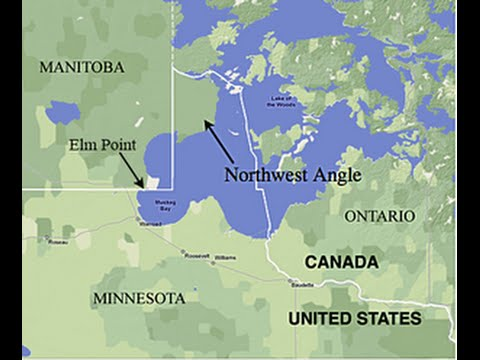 Northwest Angle Minnesota - Drive - Northern Most Point in Continental USA (LONG version)