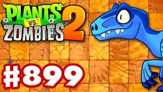 Jurassic Marsh Madness! Penny's Pursuit! - Plants vs. Zombies 2 - Gameplay Walkthrough Part 899