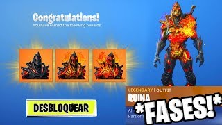 How TO UNLOCK FASES SKIN RUINLOCATION SECRET KEYS in Fortnite!
