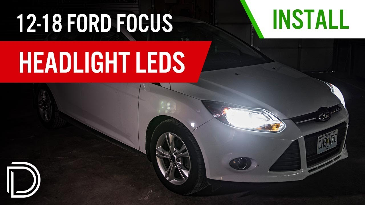 How to Install 2012-2017 Ford Focus Headlight LEDs | Diode Dynamics