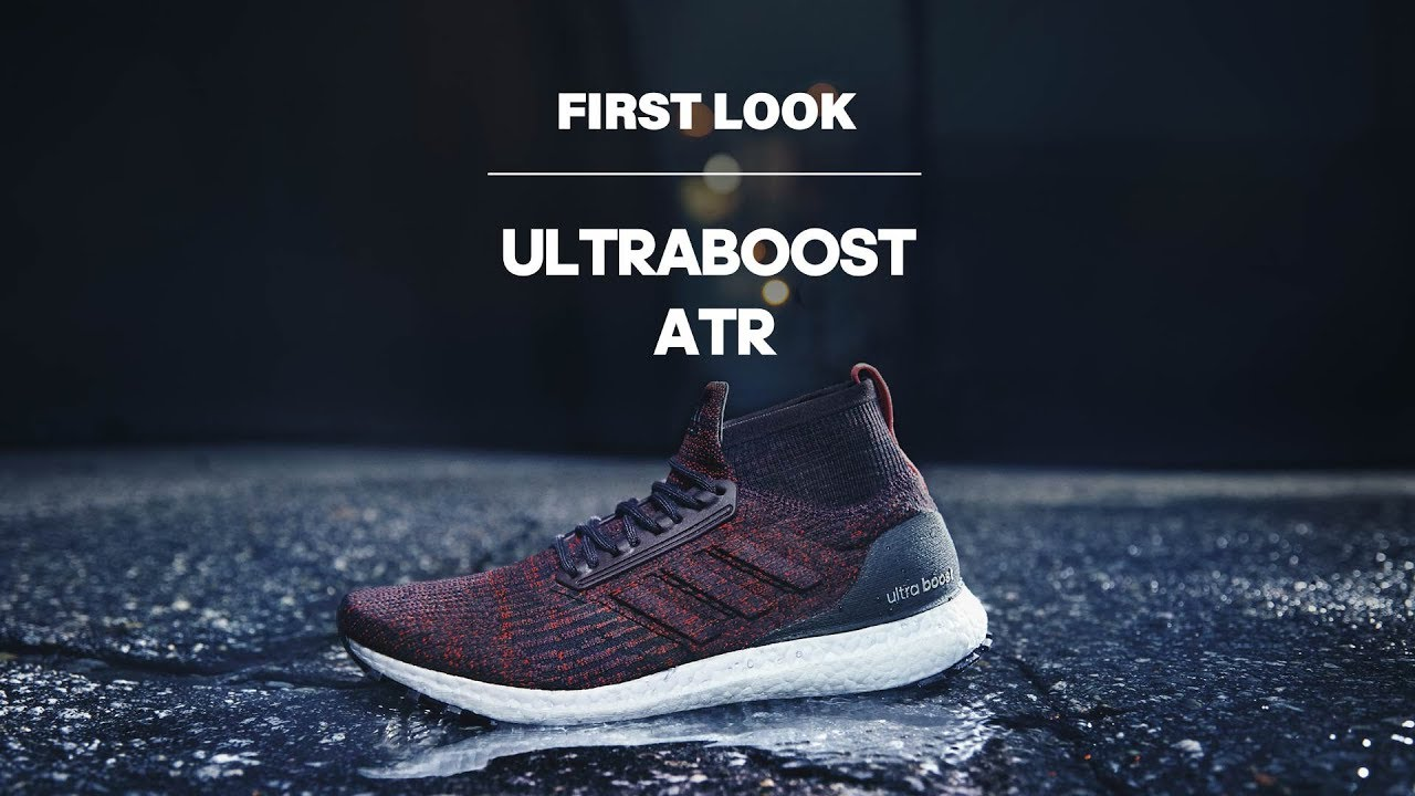 e21f0816b6ee4 First Look  adidas UltraBOOST All Terrain - YouTube