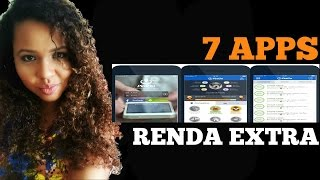 7 APPS para ganhar RENDA EXTRA