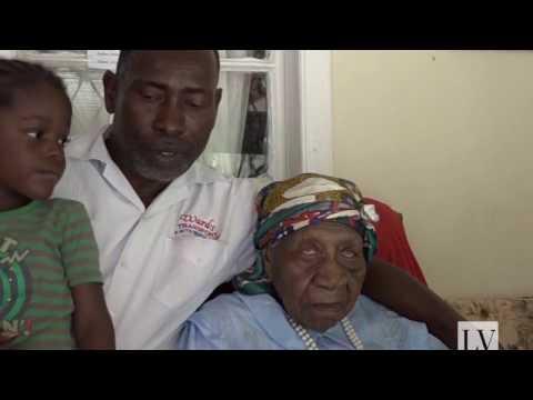 Violet Mosse Brown tiene 117 años y es la persona más vieja del mundo