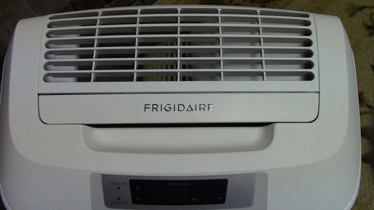 frigidaire fad504dwd energy star 50 pint dehumidifier manual