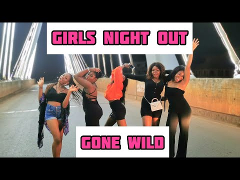 GIRLS NIGHT OUT GONE WILD!!! || LAST NIGHT IN COLLEGE