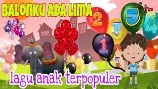 Balonku Ada Lima   Lagu Anak Terpopuler   Lagu Anak Balita Indonesia
