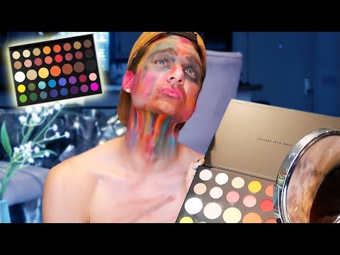 Trying on EVERY color of *James Charles* new palette! thumbnail