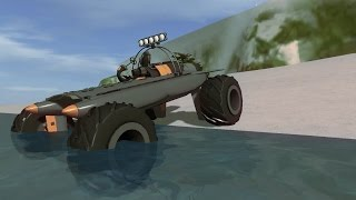 Rocket Powered Amphibious Monster Truck - Homebrew - Vehicle Sandbox