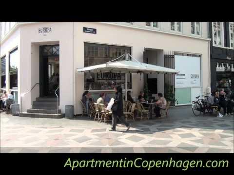 Strøget - The pedestrian street in Copenhagen