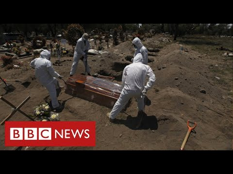 Mexico suffering world's highest Covid death rate as cases surge - BBC News