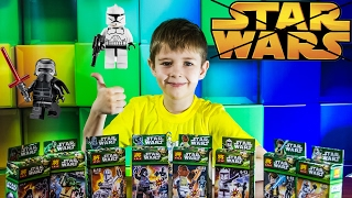 Star wars Звездные Войны КИТАЙСКИЙ НАБОР 8шт Распаковка Unboxing LEGO Star Wars from China