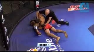 Federico Olivera KOs - Combate Americas 19