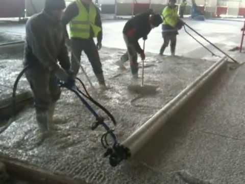 Plancer le beton sur plancher doovi - Lissarde a beton ...