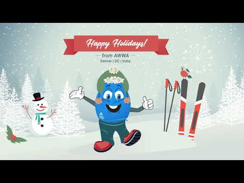 Happy Holidays From American Water Works Association!
