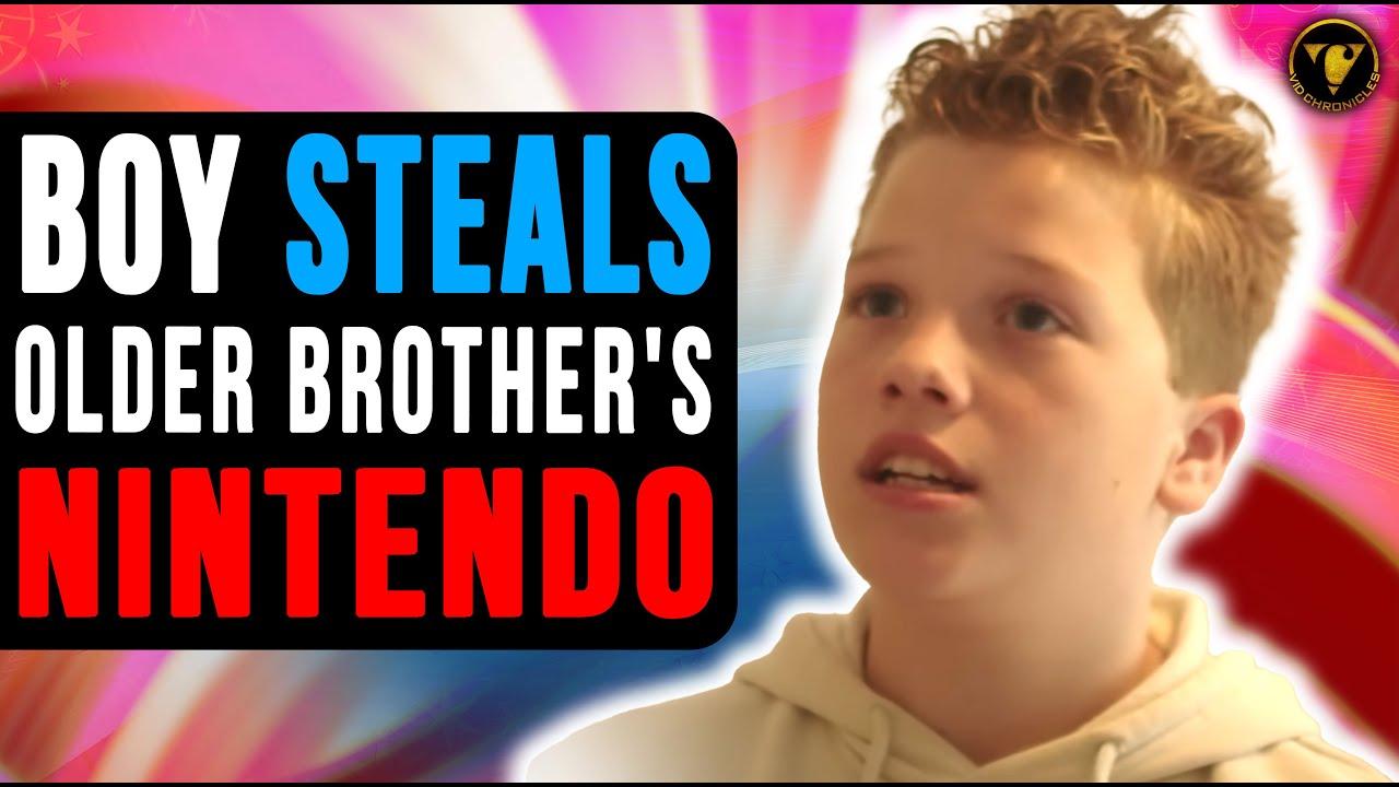 Download Boy Steals Older Brother Nintendo Wii,Then This Happens.
