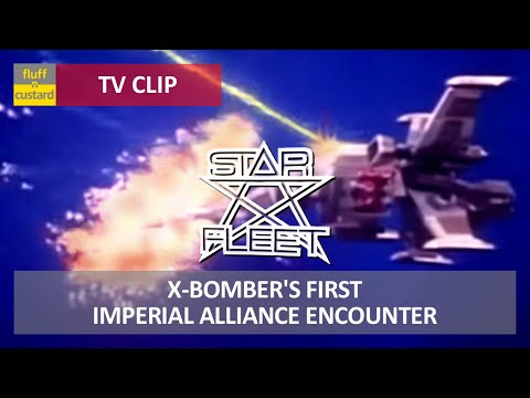 Star Fleet (1980) - X-Bomber's first Alliance encounter [HQ]