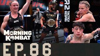 UFC 255 Recap: Figueiredo, Shevchenko Win, Perry Loses | Morning Kombat | Ep. 86