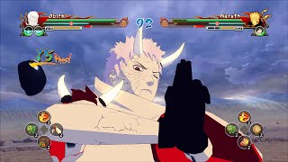 Naruto Ultimate Ninja Storm Revolution  Obito Juubi Jinchuuriki Mod Gameplay (PC)