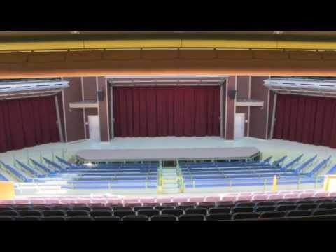 Motorized School Stage Curtains Theater