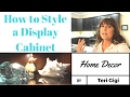 Decorate With Me! Ideas for a Display Cabinet/Bookshelf