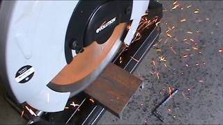 Evolution Power Tools RAGE2 Multi Purpose Cutting Chop Saw, 14-Inch review