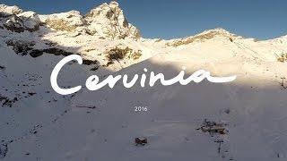 Skiing Cervinia – Zermatt 2016 | Drone footage