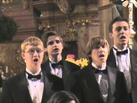Los Alamos High School Choir Sings at Peterskirche (Peter's Church) in Vienna